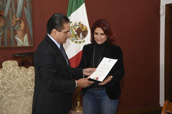 Ratifican a Fabiola Alanís Sámano como titular de la Secretaría de Igualdad Sustantiva y Desarrollo de las Mujeres Michoacanas