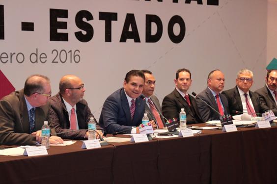 Gobernador y delegados federales cierran filas en favor de Michoacán