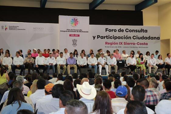 En Michoacán se sientan las bases para un desarrollo sostenido: Silvano Aureoles