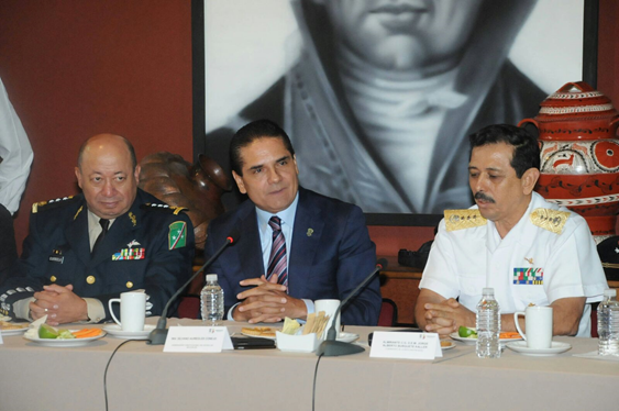 Continúan acciones estratégicas para la seguridad pública de Michoacán: Gobernador