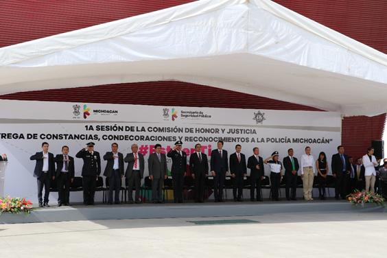 Con presupuesto 2016,SSP consolidará 21 acciones del Plan de Seguridad Pública Michoacán