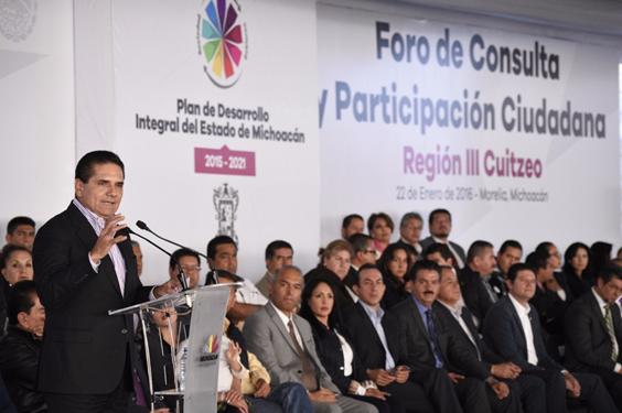 En Michoacán hay un Gobierno que actúa y toma decisiones: Silvano Aureoles