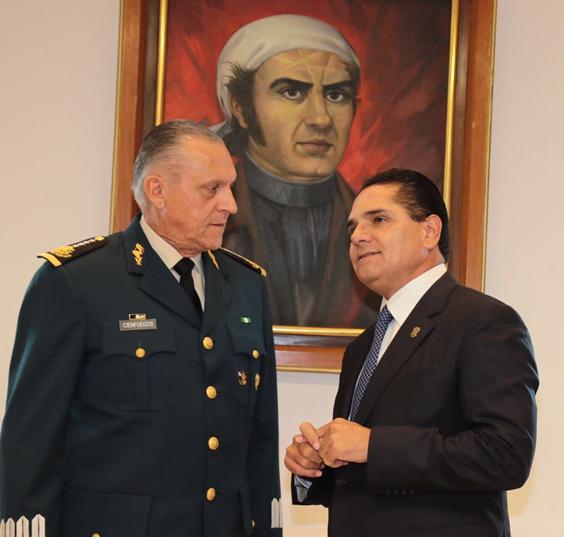 Destaca Sedena decisión y firmeza en gestión de Silvano Aureoles contra la inseguridad