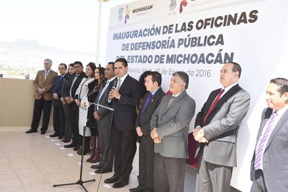 Generar confianza en materia de procuración de justicia, la meta: Silvano Aureoles