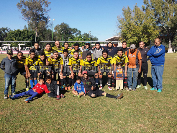 Deportivo San Antonio ganó por 4-1 a Galeana