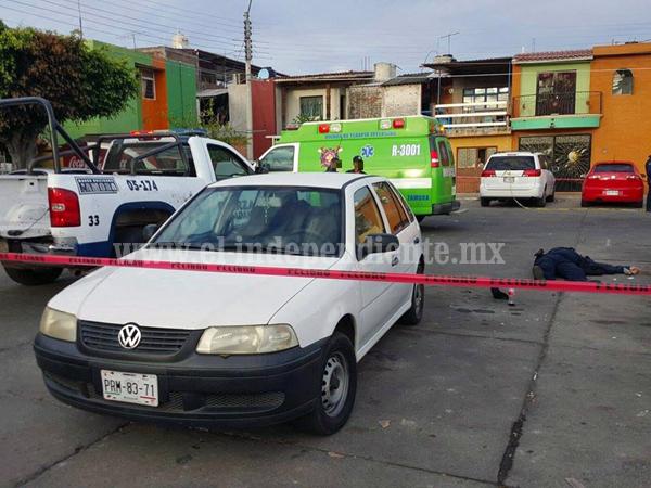 Empistolados dan muerte a un Policía