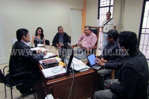 Positivo diálogo del alcalde con el delegado regional del IMSS Zamora