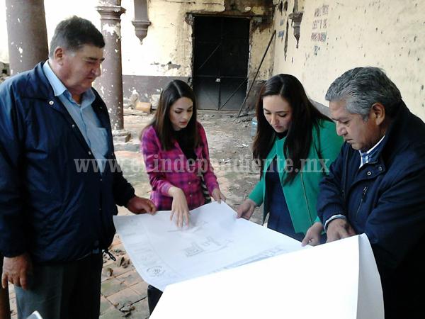 Buscarán recuperar y restaurar Hacienda de La Sauceda
