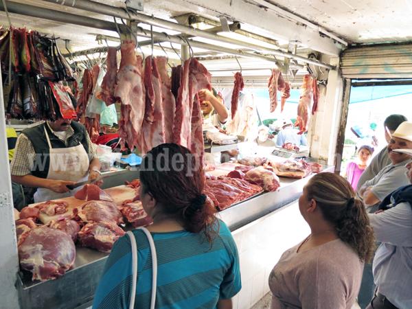 Prevén disminución de 40 por ciento en ventas de carnicerías