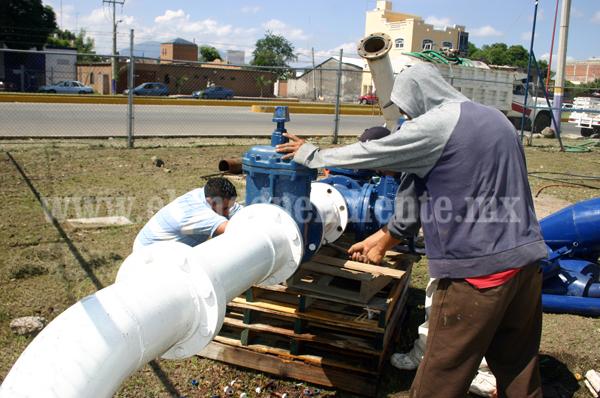Contemplan 32 mdp para perforar 8 pozos y abastecer de agua a usuarios de SAPAZ