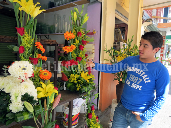 Ni San Valentín salvará a florerías de la crisis