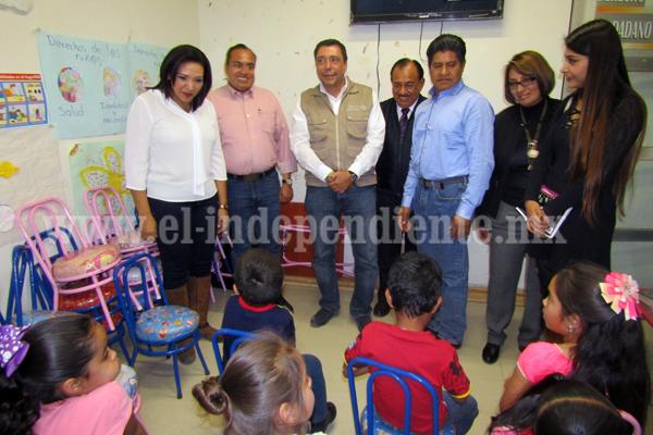 Inauguran obras del programa Hábitat  con inversión superior a los 14 mdp
