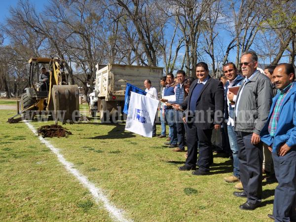 Invierten más de 10 mdp en paquete de obras para Tangancícuaro