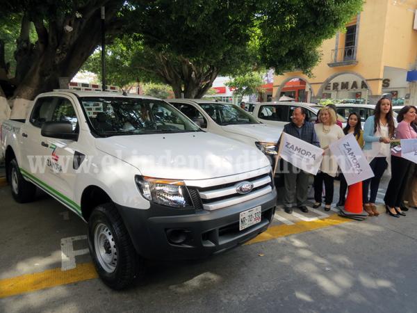 Destinan más de 3 mdp para adquisición de parque vehicular