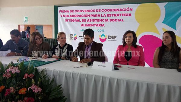 DIF municipales de la región unen esfuerzos a favor de gente vulnerable