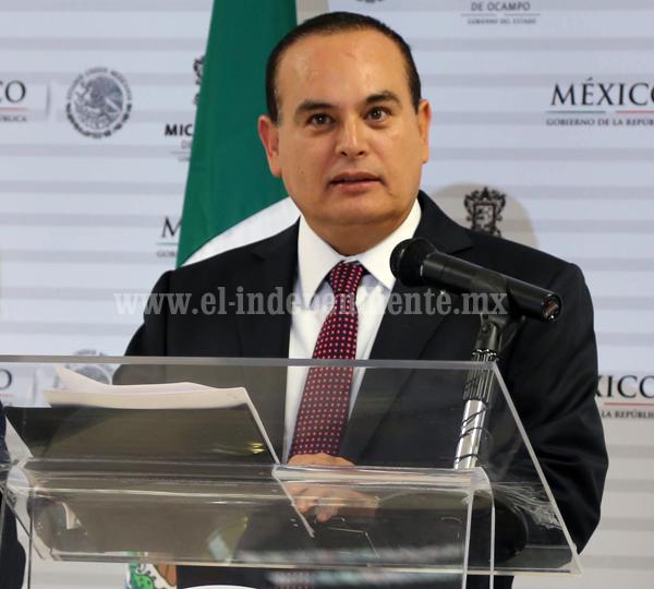 Procurador aseguró que han disminuido los delitos de alto impacto en Michoacán