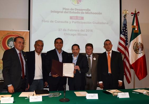 El Gobernador Silvano Aureoles cumple sus compromisos con los migrantes