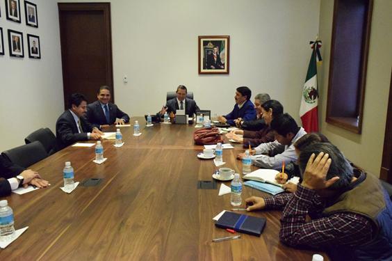 Participa Gobernador en reunión de Segob y Antorcha Campesina