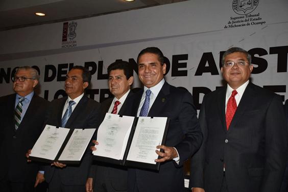 Impulsa Silvano Aureoles decreto de austeridad y ahorro para Michoacán