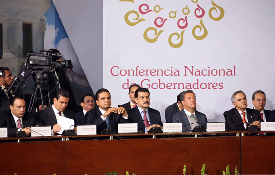 Participa Silvano Aureoles en intensa agenda de trabajo de la Conago