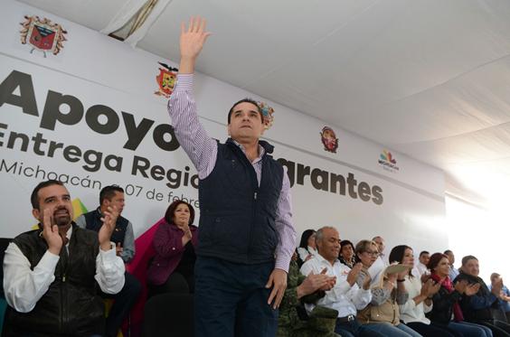 Ni un ápice a la delincuencia en Michoacán: Silvano Aureoles