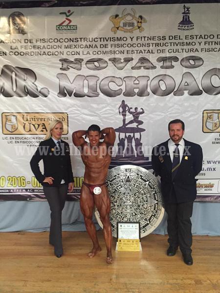 Con buen nivel el Mr. Novato Michoacán 2016