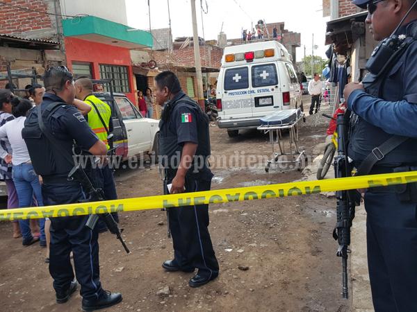 Empistolados matan a dos hombres y dejan heridos a otros dos en la colonia Ferrocarril de Zamora