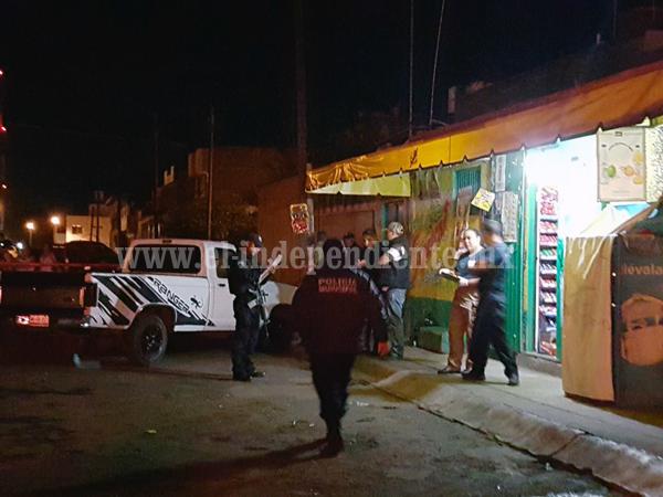 Persiguen a un hombre y lo matan a tiros en el Fraccionamiento Villas de Jericó de Zamora