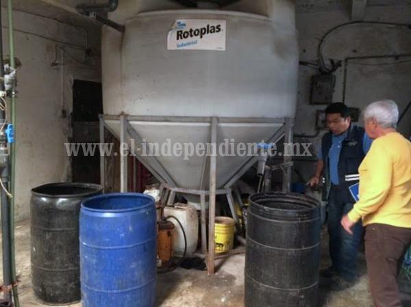 SAPAZ supervisa descargas de aguas residuales