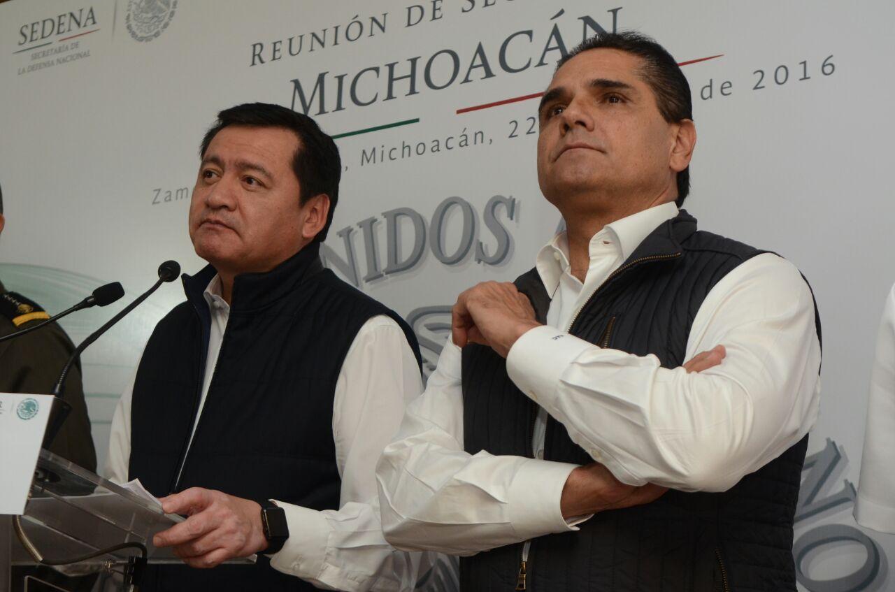 Reconoce Segob trabajo de Silvano Aureoles a favor de la seguridad en Michoacán