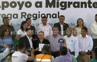 Buscan concretar proyectos migrantes