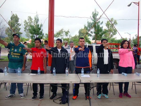 Inauguran el Centro Deportivo Municipal en Jacona