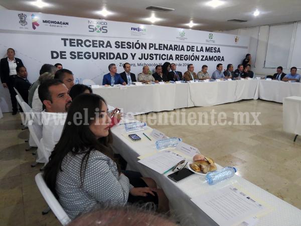 Vamos a apretar el paso para resolver tema de seguridad en Zamora