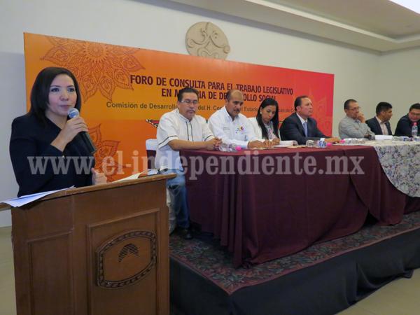 Unen esfuerzos SEDESOL y diputados para mejorar condiciones de vida de michoacanos