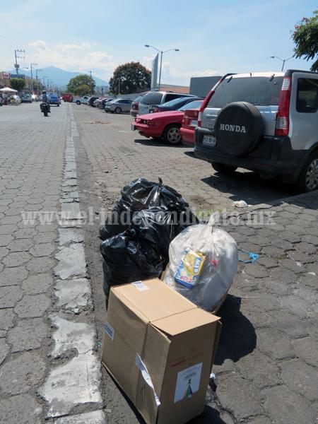 Logran erradicar 80 por ciento de tiraderos de basura en las esquina