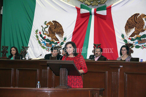 Protección inmediata para las mujeres víctimas de violencia: Adriana Campos