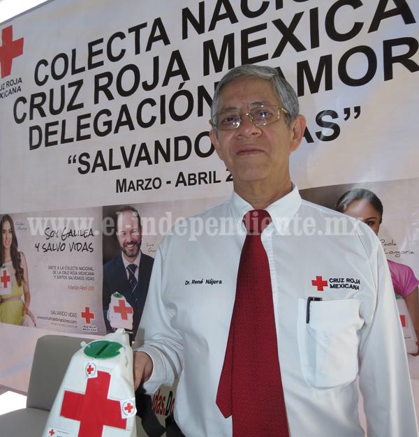 Arrancará colecta  de la Cruz Roja, delegación Zamora