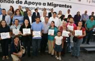 Fondo de Apoyo al Migrante ha generado 6 mil empleos: Silvano Aureoles