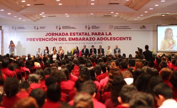 Tendrán jóvenes michoacanos condiciones para construir un futuro mejor: Silvano Aureoles
