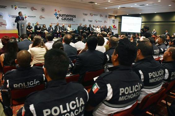 Michoacán tiene un Plan Integral para la Seguridad: Silvano Aureoles