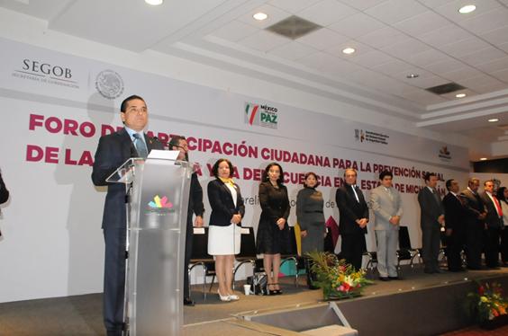 Michoacán avanza en recuperación de la confianza de su población: Silvano Aureoles