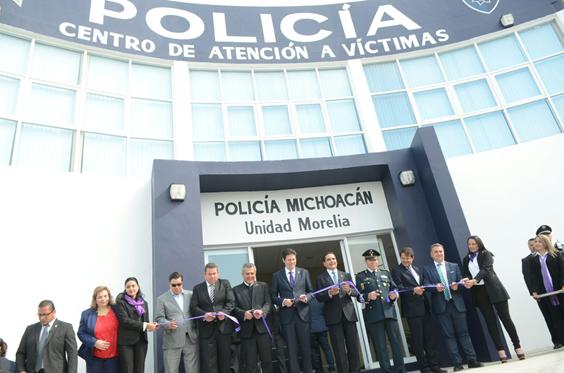 Inicia nueva ruta en Michoacán para fortalecer instituciones de seguridad: Silvano Aureoles