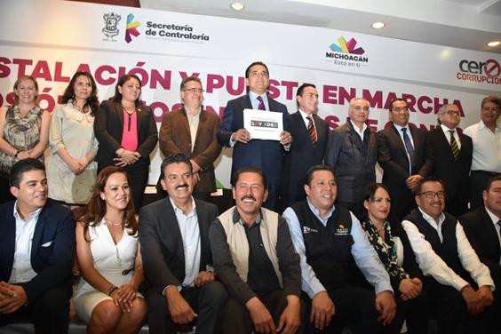 Se suma Gobierno de Michoacán a la iniciativa 3de3 a favor de la transparencia