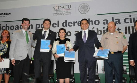 Impulsa Silvano Aureoles política pública urbana de vanguardia