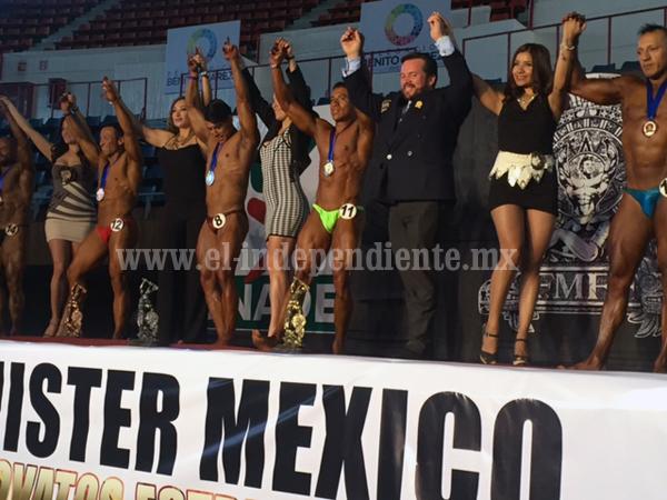 Concluyó con buen nivel el Campeonato Mr. México Principiantes y Novatos 2016