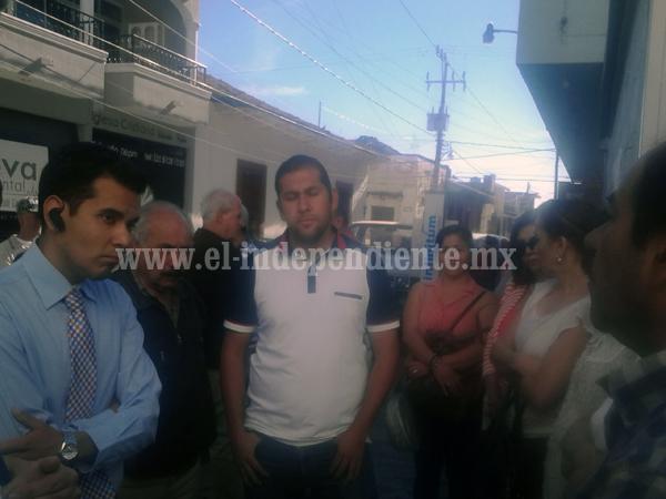 Se manifiesta comité de Pueblos Mágicos contra empresa de telefonía fija