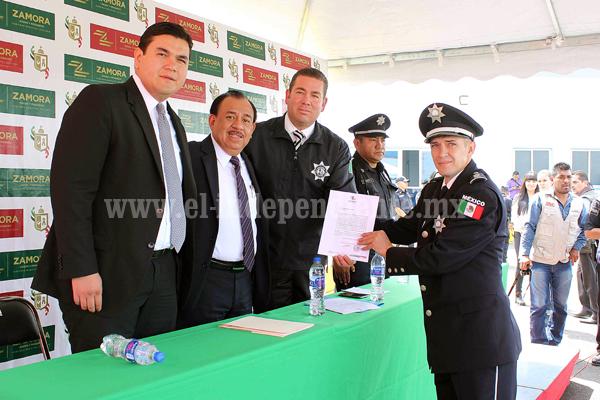 Tomó protesta Rumualdo Albiter como director de seguridad pública