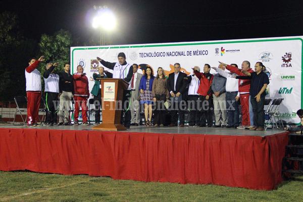 Cientos de participantes en la X Jornada Estatal Deportiva de trabajadores de tecnológicos