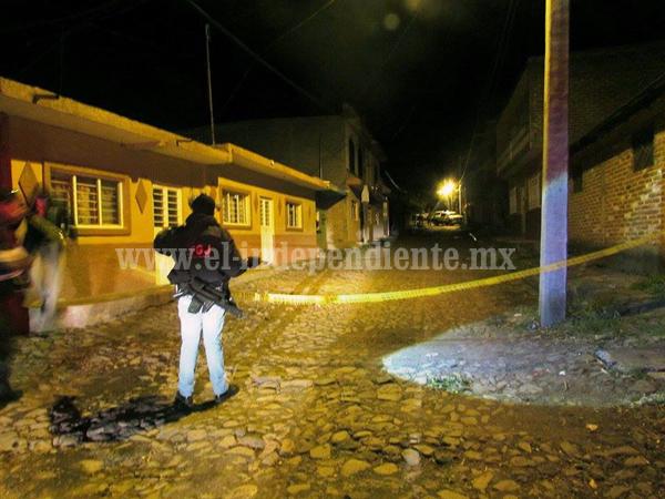 Ultiman a tiros a un joven en la comunidad de La Sauceda