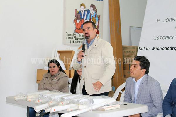 Alcalde de Ixtlán inauguró jornada estatal de archivos históricos municipales